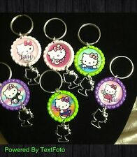 Hello Kitty Keychain With A Charm