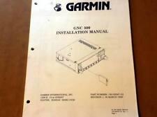 Garmin GNC 300 Install Manual