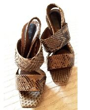 MARNI Sexy Python Platform Shoes - Size 36 (retail £850)