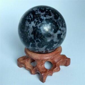 Details about Indigo Gabbro Sphere Crystal Ball Reiki Gemstone Crystal  sphere Healing Ball