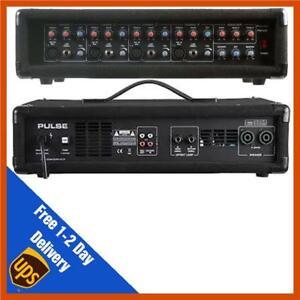 Pulse-PMH200-4-Channel-PA-Pulse-PMH200-Power-Mixer-Amplifier-Amp-DJ-Disco