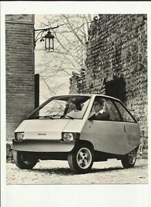 """""""neuf"""" Ford Ghia City Voiture Press Photo """"brochure Connexes""""-afficher Le Titre D'origine"""