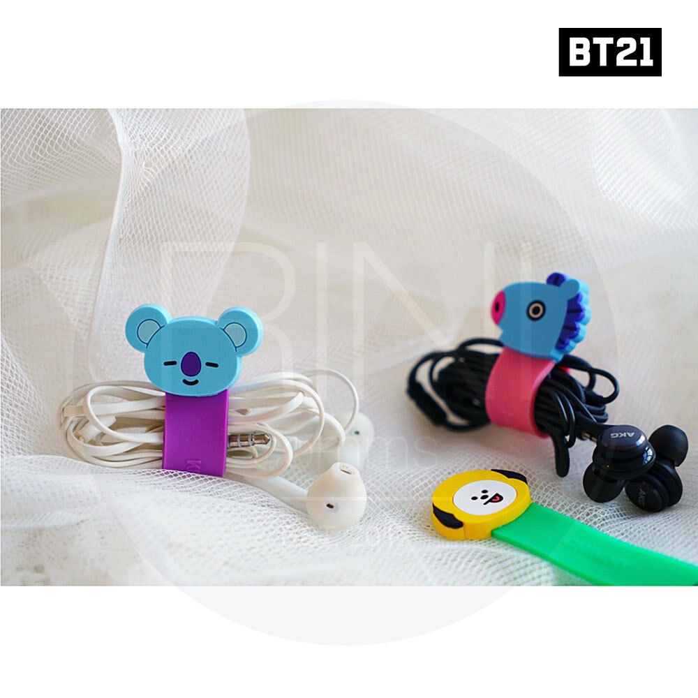 BTS BT21 Official Authentic Goods Cable Band 7Characters SET SET SET By Kumhong 35dc66