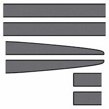 Ferrari F430 Scuderia Stripe Decal Kit, Black/Met.Slate Vinyl Striping, Graphics