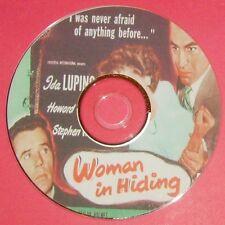 FILM NOIR 274: WOMAN IN HIDING (1950) Michael Gordon Ida Lupino, McNally, Duff