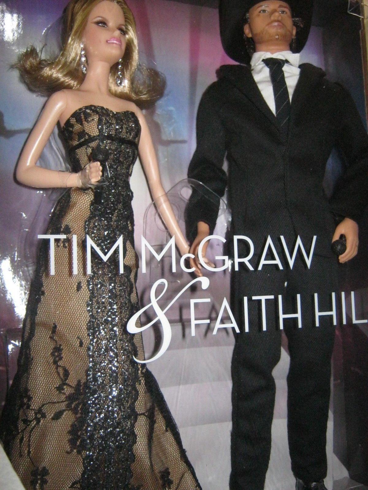 Barbie Y Ken Tim McGraw y Faith Hill Duo nunca quitado de la caja