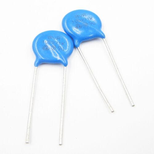 50PCS//100PCS Varistor 10D271K 270V Metal Voltage Dependent Resistor