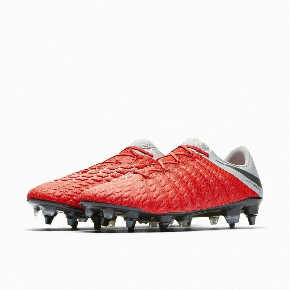 Nuevo Y En Caja Para Hombre Nike Hypervenom 3 Elite Sg-pro anti obstruir Reino Unido 6 100% Authenti AJ3810 600