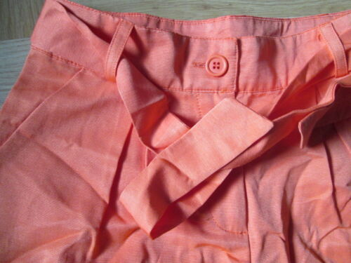 John Lewis Loved and Found orange shorts 11,12,13 years New.