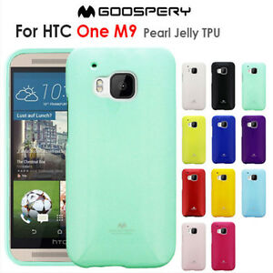 premium selection b0391 231c2 Details about HTC One M9 Case Genuine Mercury Goospery Soft Glossy Jelly  TPU Case Cover