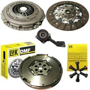 LUK-Doble-Masa-Rigida-Volante-Un-Kit-De-Embrague-amp-CSC-para-un-Ford-S-MAX-MPV-1-6-TDCi