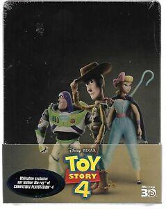 Toy-Story-4-Steelbook-Edition-Limited-Blu-Ray-3D-2D-Blu-Ray-Bu-Ray-Bonus-New