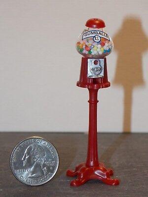 Dollhouse Miniature Store Gumballs Dispenser Machine 1:12 Y45 Dollys Gallery
