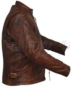 Brown naked leather jacket error