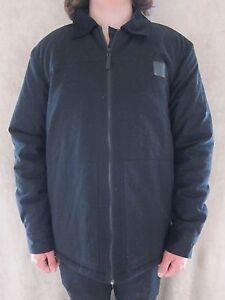 METAL-MULISHA-Mens-Formulate-M42502405-Black-Jacket-Coat-Shirt-Size-LARGE-NWT