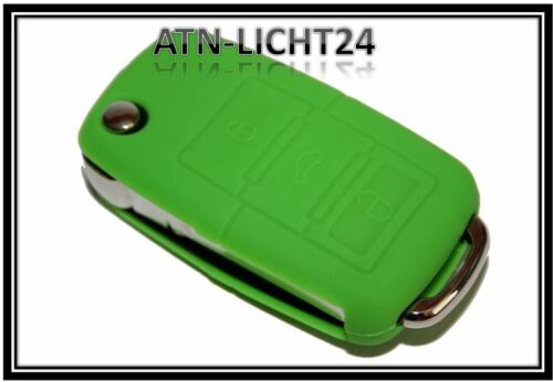 für VW  Funkfernbedienung Klappschlüssel Schlüssel Schutz Silikon Hülle 3T