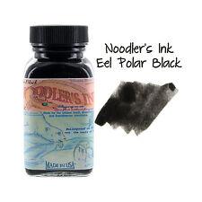 Noodler's Ink Fountain Pen Bottled Ink, 3oz - Eel Polar Black
