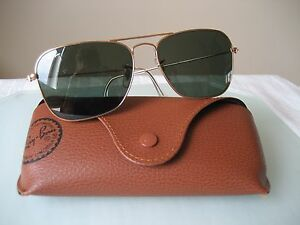 ce77e8c0372034 RAY BAN RB 3136 CARAVAN 58MM ARISTA SUNGLASSES MADE IN ITALY   eBay