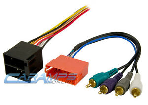 PREMIUM-SOUND-SYSTEM-W-AMP-INTEGRATION-CAR-STEREO-RADIO-FACTORY-WIRING-HARNESS