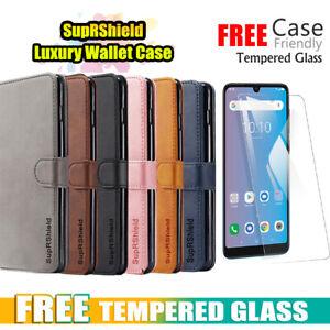 For Telstra Evoke Pro Case SupRShield Wallet Leather Flip Magnetic Case Cover