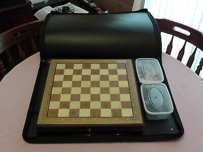 Custodia Adatto A Mephisto Esclusivo Chess Computer-gratis P&p-mostra Il Titolo Originale Aspetto Attraente