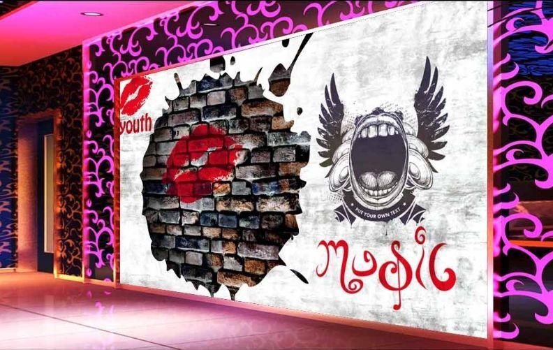 3D Graffiti art 14 WallPaper Murals Wall Print Decal Wall Deco AJ WALLPAPER
