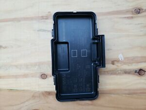 02 03 04 05 06 Acura RSX under hood fuse box lid diagram ...