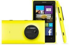 "Unlocked 1080P 4.5"" LUMIA 1020 4G LTE GSM Smartphone 32GB Cell Phone Yellow"