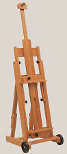 Jack Richeson Lyptus Wood Belmont Easel with wheels