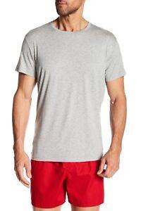 bb069e988a Polo Ralph Lauren Men's Gray Crew-Neck Short Sleeve Lounge T-Shirt ...
