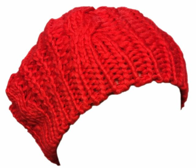 42f8f2ee4caba Arrivals Lady Winter Warm Knitted Crochet Slouch Baggy Beret Beanie ...