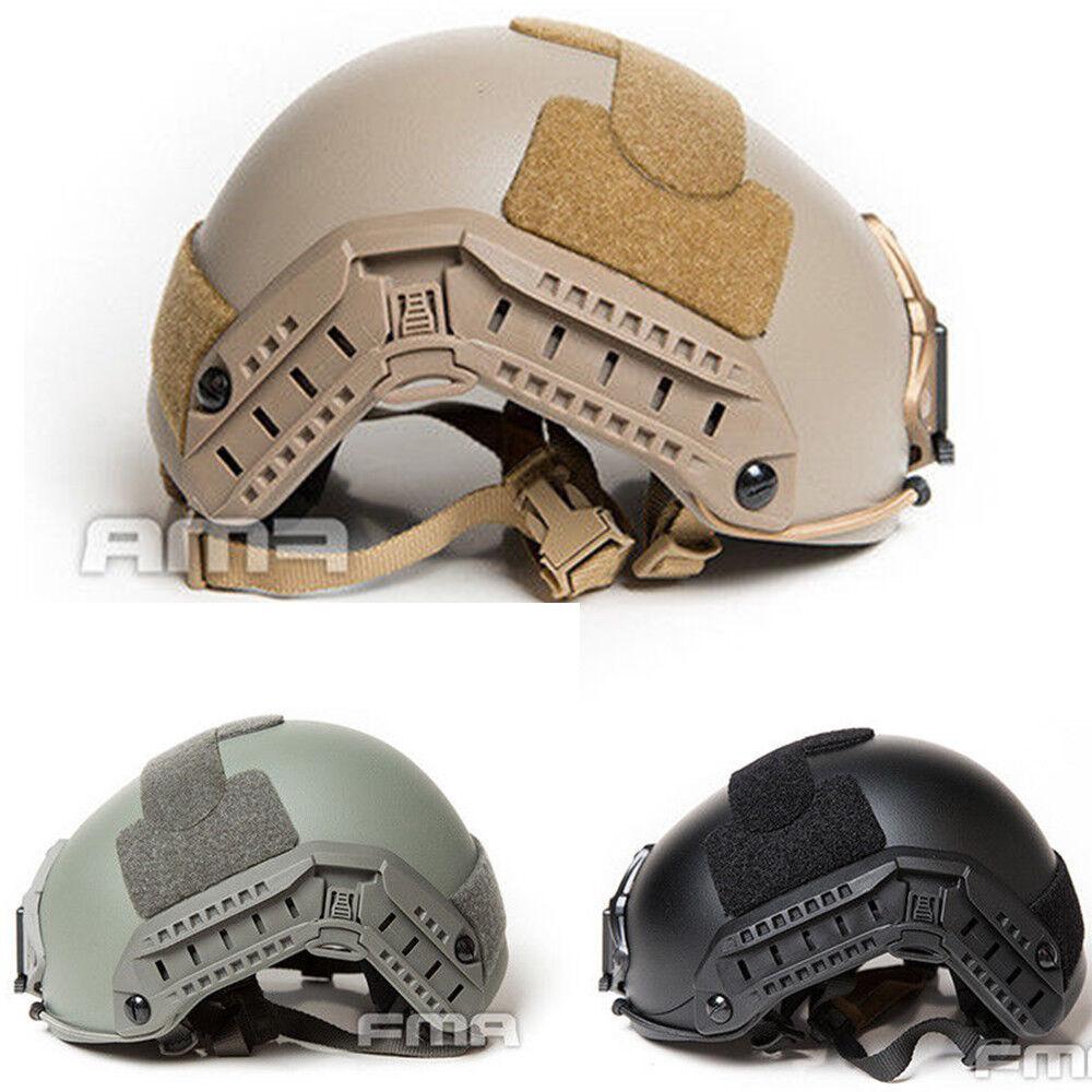 FMA casco táctico Maritime Pesado Grueso versión para Paintball TB1295