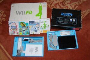 Nintendo-Wii-mit-Wii-Balance-Board-in-OVP-Spiele-alles-original