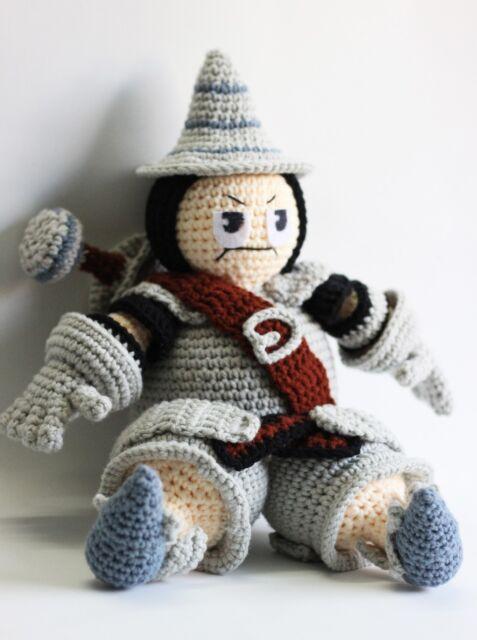 Crochet Pattern - Amigurumi Moogle Mog Final Fantasy | 640x477