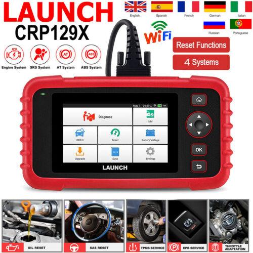 Launch CRP129X OBD2 Diagnosegerät KFZ Auto Diagnose Fehlerauslesegerät EPB TPMS