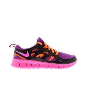 5cd7c7fda1928 Filles Juniors Nike Free Série 2 Violet Basket Course 477701 502
