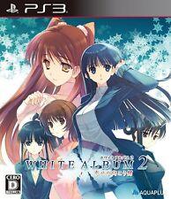 Used PS3 White Album 2: Shiawase no Mukougawa Japan import free shipping