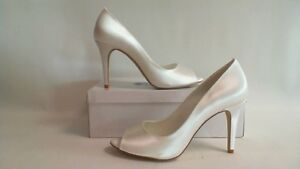 Shades-Wedding-Bridal-Shoes-Niamh-516-White-Size-7-Dyeable-Fabric-38R232