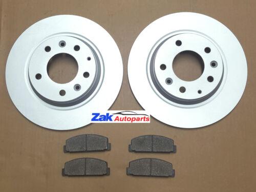Mazda 6 1.8i 2.0i 2.0 2.2 CD 2.5i Sport 2008-2012 Discos De Freno Trasero /& Pastillas Set