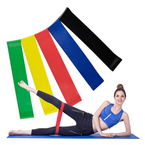 Palestra Braccio Gamba Stretch Resistenza Esercizio Loop bande Sports Allenamento Elastico