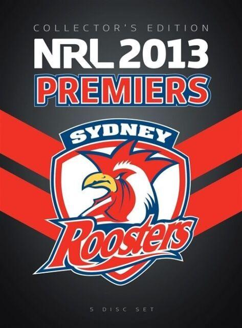 NRL - 2013 Premiers - Sydney Roosters (DVD, 2013, 5-Disc Set)
