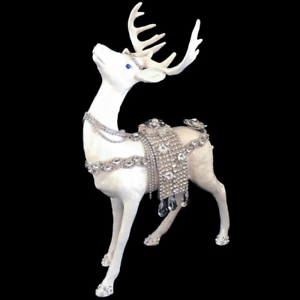 Isabella Adams Signed Limited Edition Reindeer Standing Statuette