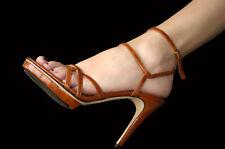 Dolce&Gabbana Plateau HIGH HEELS SANDALETTEN D&G Gr.39