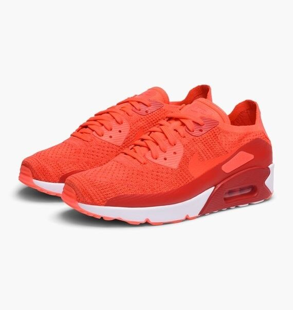 Nike homme Air Max 90 Ultra 2.0 6009.5; Flyknit Crimson Trainers 875943 6009.5; 2.0 10.5 c78442