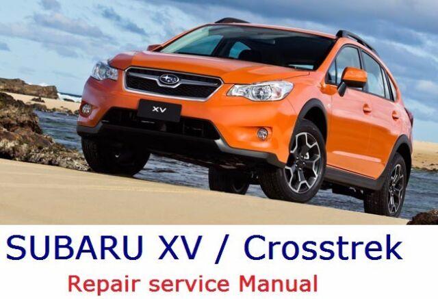 Subaru Xv    Crosstrek Hybrid 2012 13 14 15 2016  Wiring Diagram Repair Manual