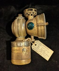 20th Century Mfg. Bicycle Carbide Lamp Light 1890's Accessory Gas Headlight