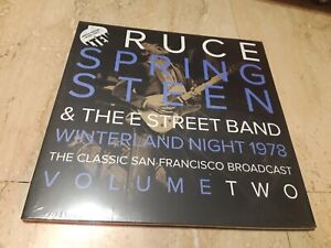 Bruce Springsteen & The E Street Band*-Winterland Night -VOLUME TWO -2 LP-MINT