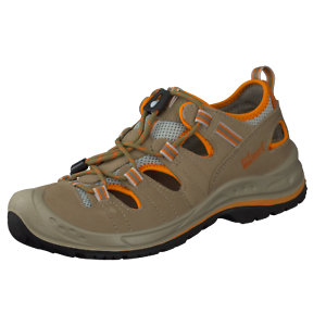 GRISPORT-OUTDOOR-scarpe-di-marca-SCARPA-BASSE-VERA-PELLE-ESTATE-Walking-BEIGE-TG-41