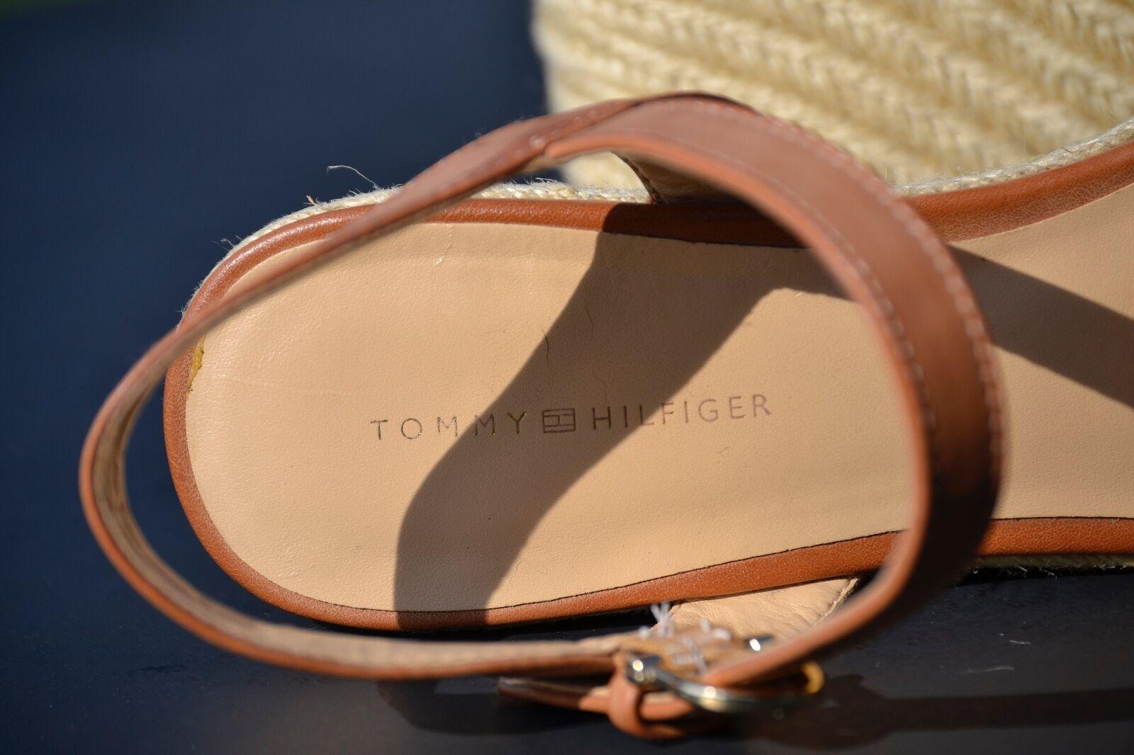 TOMMY HILFIGER Tiwadella Womens Tan Open Toe Slin… - image 7