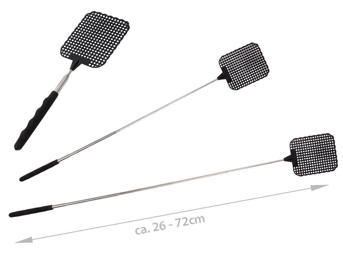 Fliegenklatsche extensible 26-73 cm cm cm Uni-Couleurs Extra Long Télescopique 4b3816